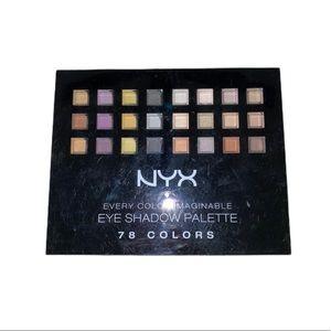 NYX Makeup Bundle (neutrals, colorful, eyeshadows)